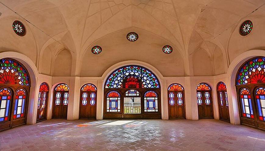 های ارسی در سبک سنتی - طراحی داخلی به سبک ایرانی سنتی
