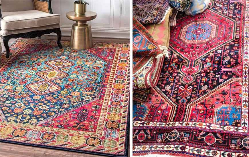 Iranian carpet 1 - طراحی داخلی به سبک ایرانی سنتی