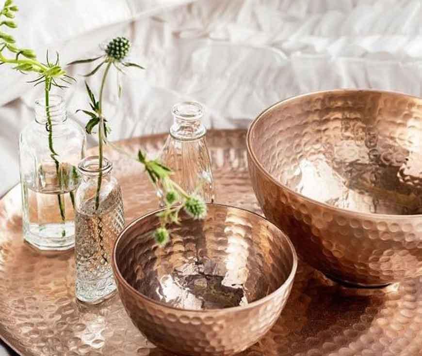 copper dish 1 1 - طراحی داخلی به سبک ایرانی سنتی