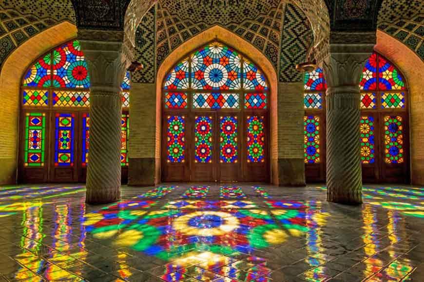 glass 1 - طراحی داخلی به سبک ایرانی سنتی
