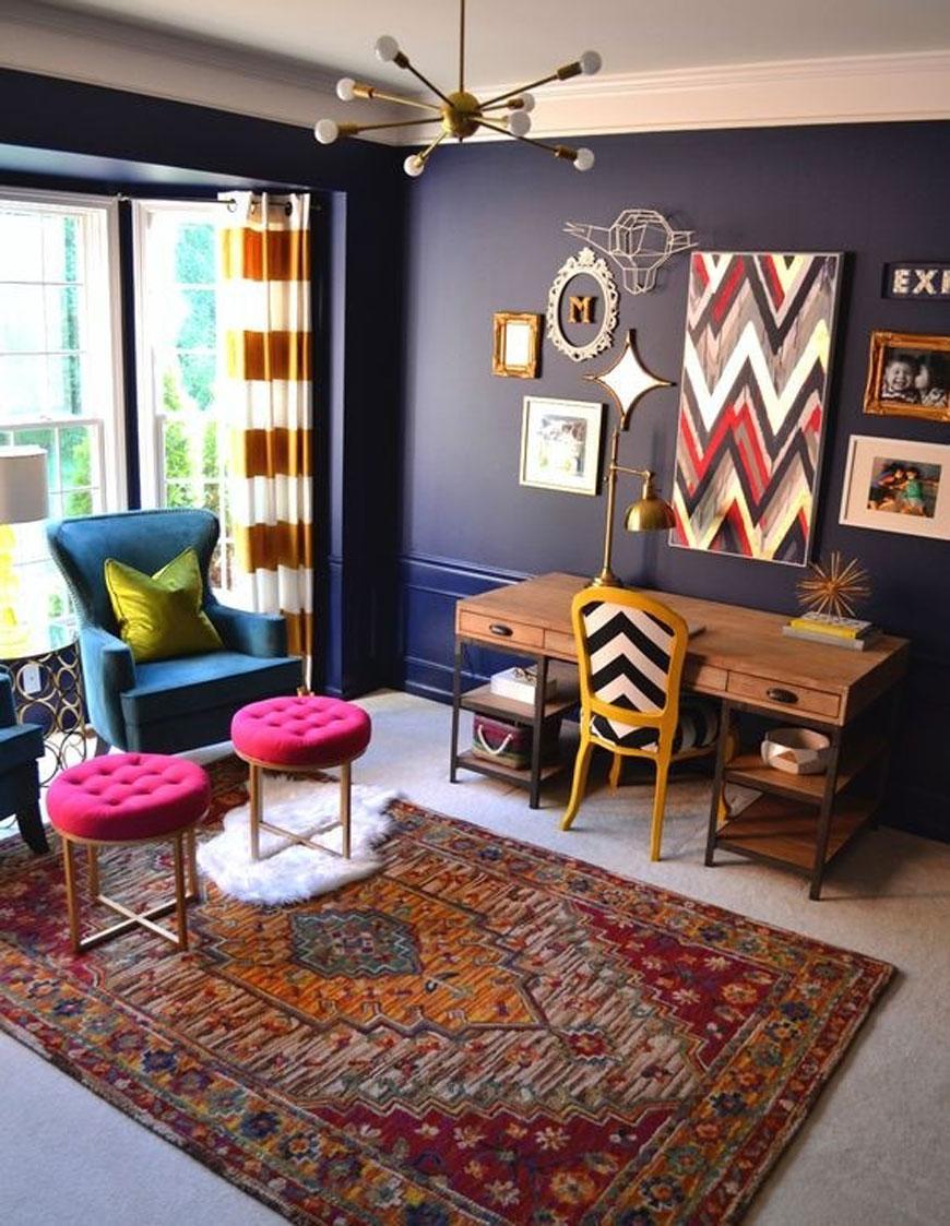 interior design - سبک تلفیقی (معماری مدرن و سنتی ایرانی)