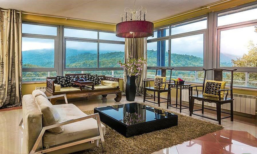 living room design - سبک تلفیقی (معماری مدرن و سنتی ایرانی)