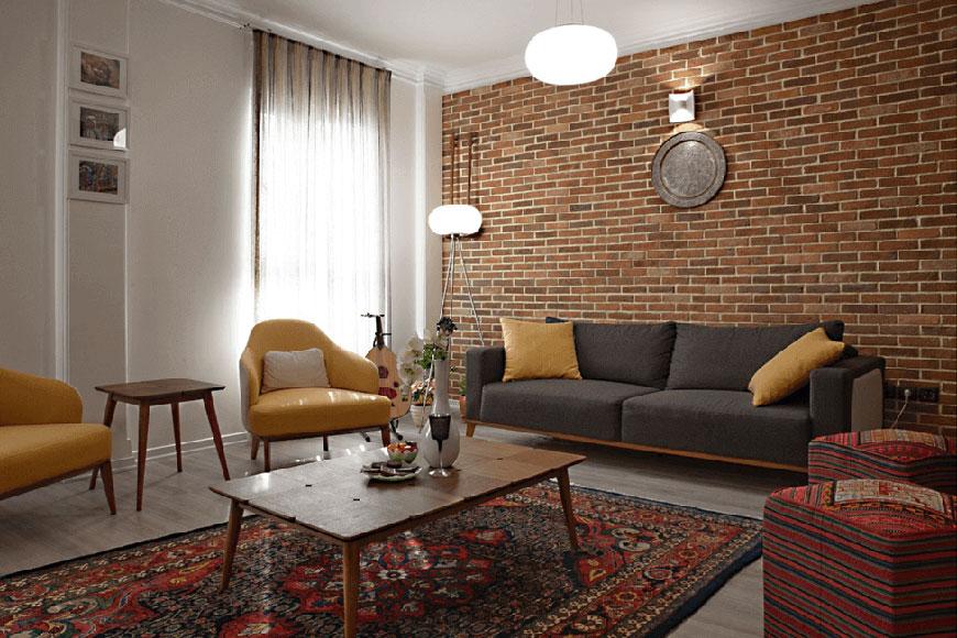livingroomstyle - سبک تلفیقی (معماری مدرن و سنتی ایرانی)
