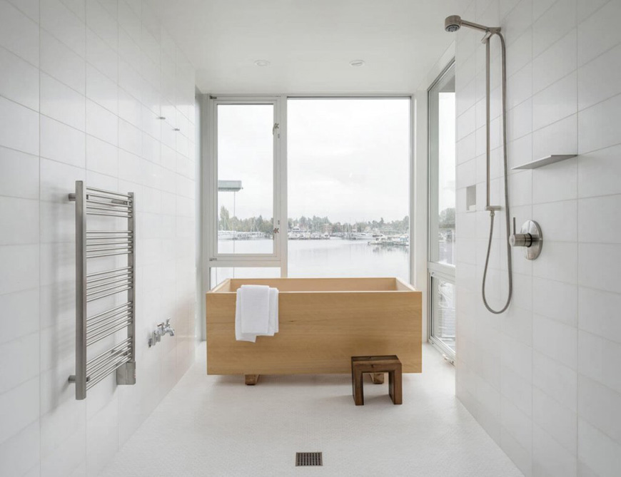 minimal bathroom design 5 - طراحی داخلی به سبک مینیمال