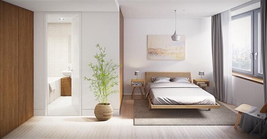 minimal bed room design 2 - طراحی داخلی به سبک مینیمال