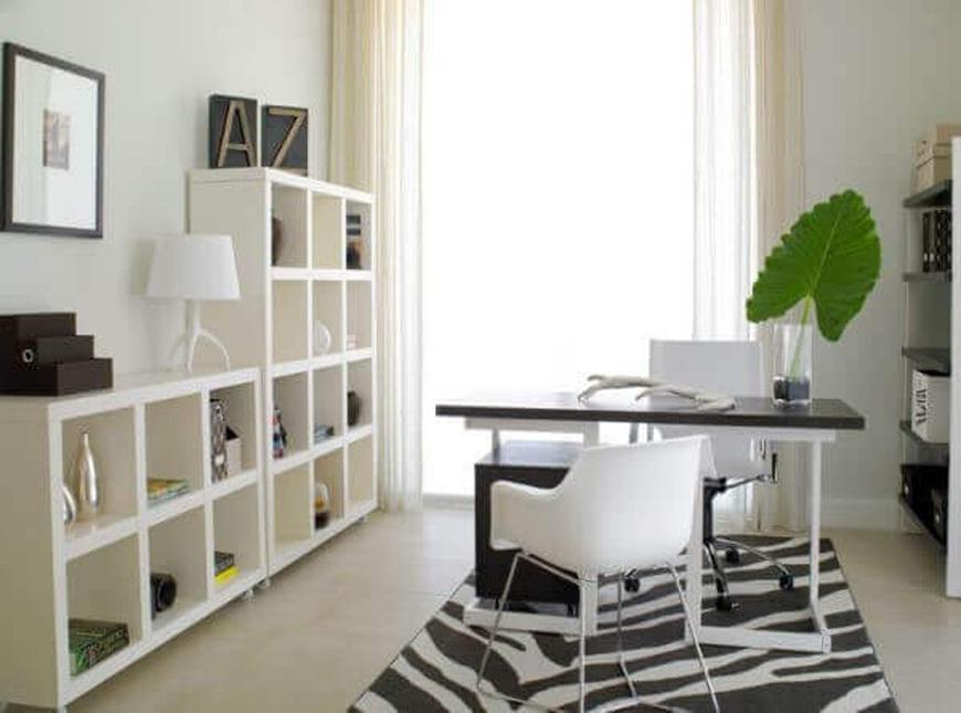minimal office design 1 - طراحی داخلی به سبک مینیمال