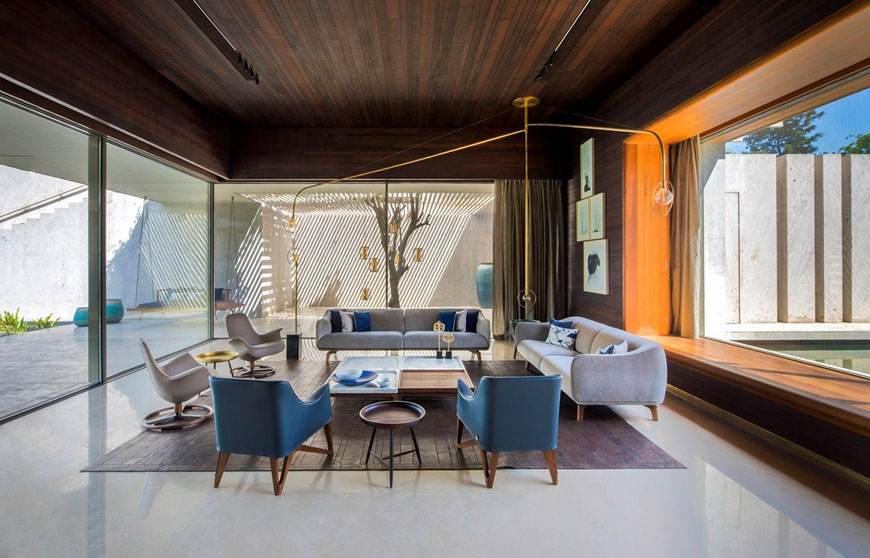 10 mid century style living - دکوراسیون داخلی به سبک مدرن میدسنچری (میانه قرن بیستم)