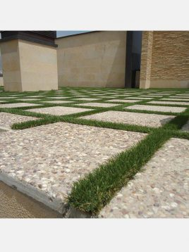 Artificial Grass paver ivanpars 3 268x358 - چمن مصنوعی ۲۵ میل ایوان پارس با الیاف هلندی
