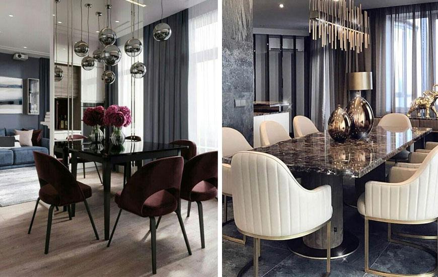 Contemporar dining room - دکوراسیون داخلی به سبک معاصر و ویژگی های آن