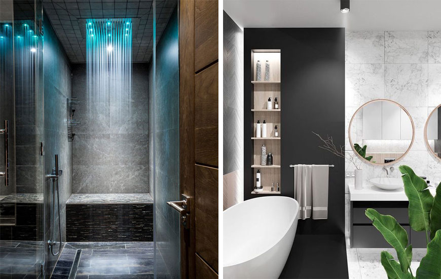 Contemporary bathroom 1 - دکوراسیون داخلی به سبک معاصر و ویژگی های آن