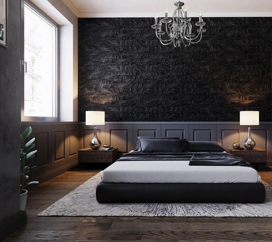Contemporary bedroom decorating - دکوراسیون داخلی به سبک معاصر و ویژگی های آن