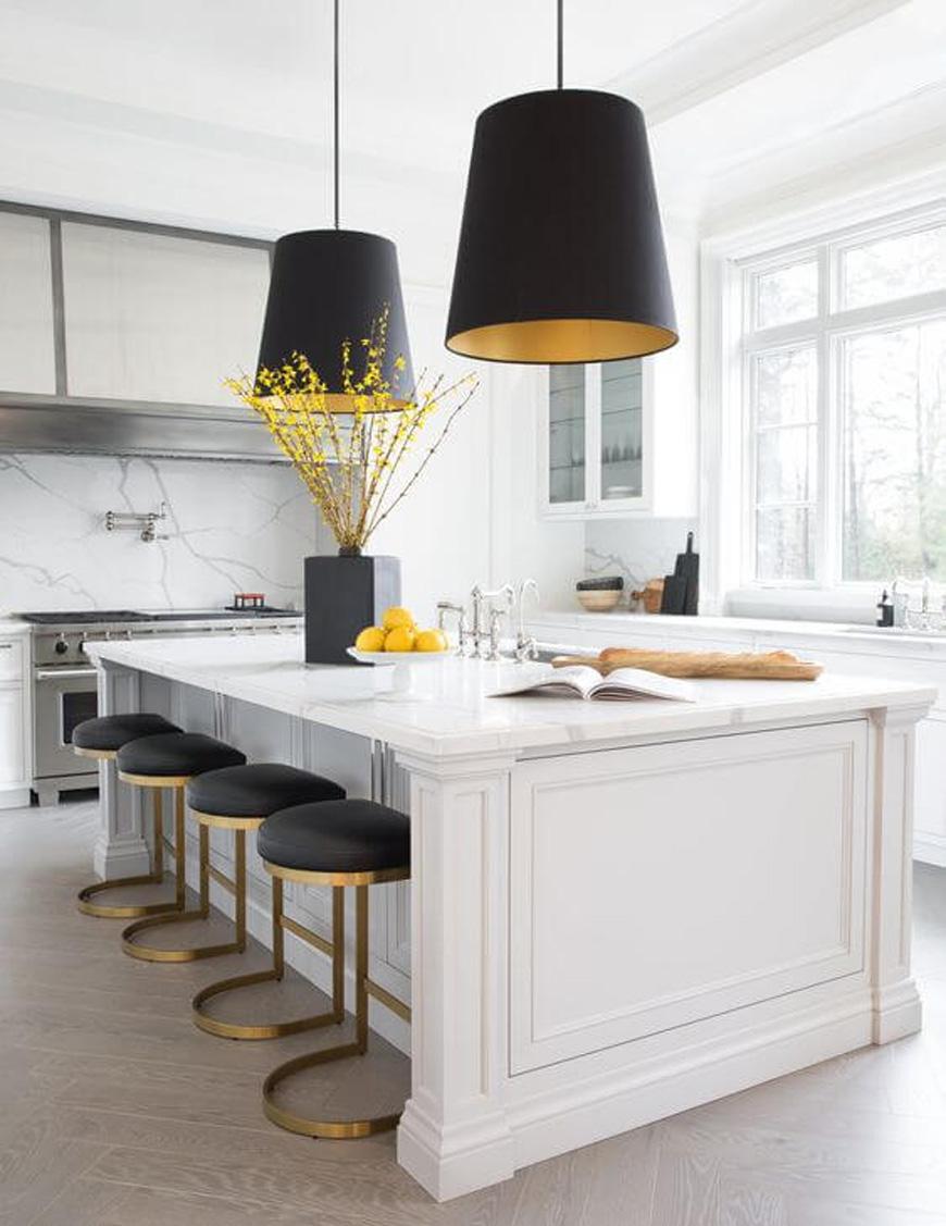 Contemporary kitchen decorating - دکوراسیون داخلی به سبک معاصر و ویژگی های آن