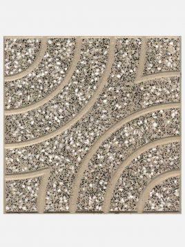 Isatis meybod mosaic gray 268x358 - موزاییک میبد طرح ایساتیس ۴۰*۴۰