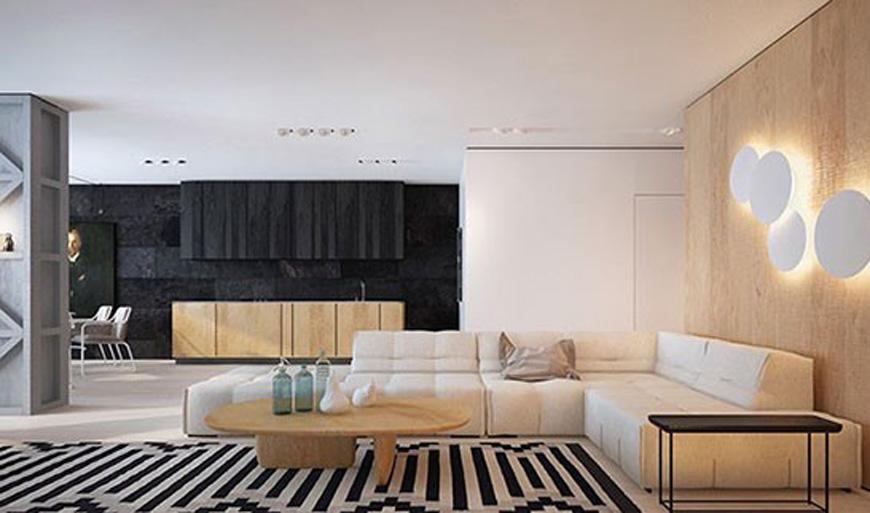 Lighting in contemporary style - دکوراسیون داخلی به سبک معاصر و ویژگی های آن