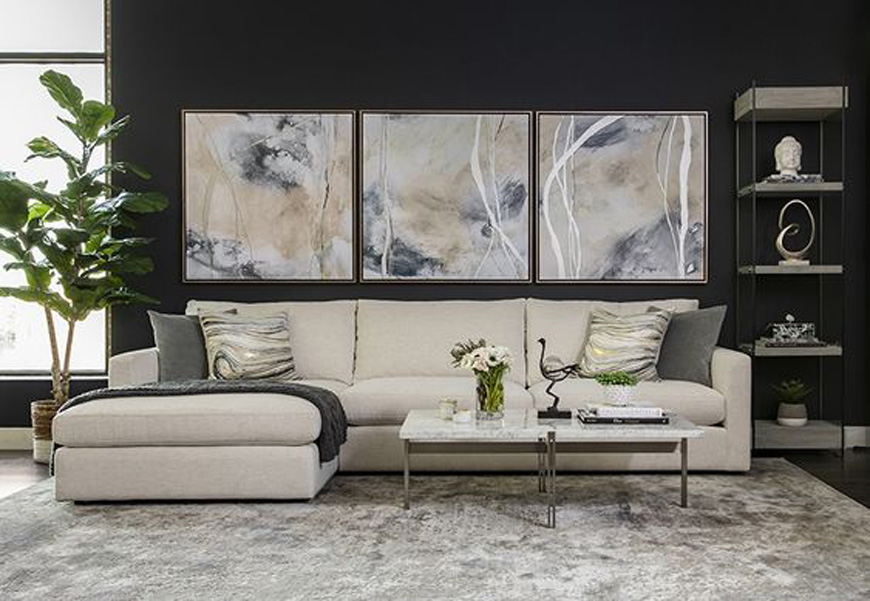 Wall Design i Contemporary Style - دکوراسیون داخلی به سبک معاصر و ویژگی های آن