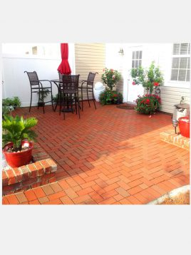brick paver red 268x358 - سنگفرش خشتی سمیرم قرمز سهیل ۲۰*۷