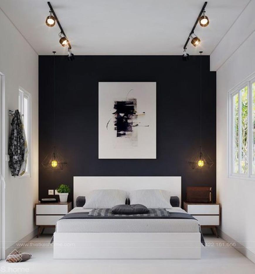 modern bedroom decorating - دکوراسیون داخلی به سبک معاصر و ویژگی های آن