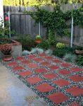 red square concrete paver 118x150 - تایل بتنی رنگی ۴۰*۴۰ موزاییک میبد