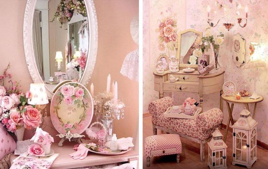 shabby chic decorating 1 - دکوراسیون داخلی به سبک رومانتیک (shabby chic)