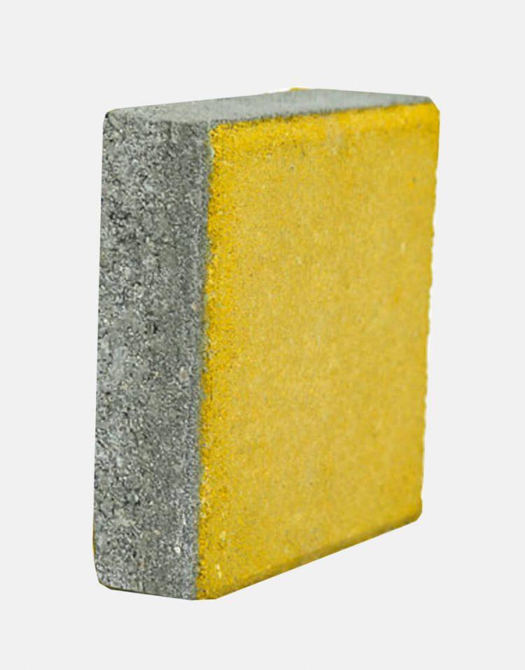 simanbeton concrete paver yellow 3 750x957 - تایل بتنی رنگی سیمان بتن ۲۰*۲۰