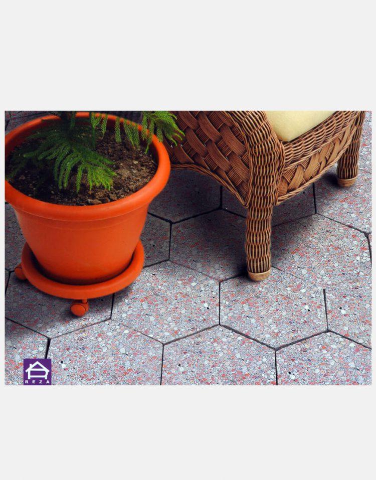washbeton hexagonal reza 2 750x957 - واش بتن شش ضلعی رضا ۱۷*۲۹