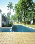 yellow concrete square paver 118x150 - تایل بتنی رنگی ۴۰*۴۰ موزاییک میبد