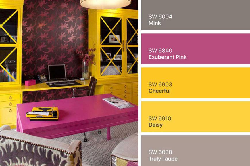 4b5e3862 76fd 4ad1 ba87 54e90df9b8d1 2 - ۷ پالت رنگ زرد در دکوراسیون