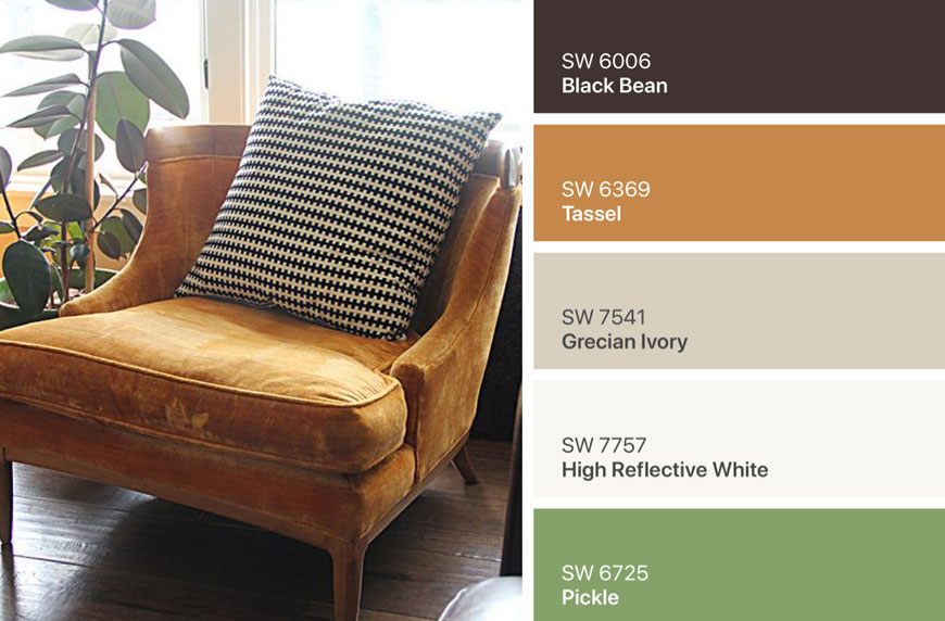 IMG 4287 - ۷ پالت رنگ قهوه ای در دکوراسیون