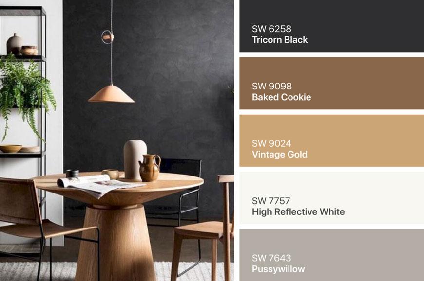 IMG 4288 - ۷ پالت رنگ قهوه ای در دکوراسیون