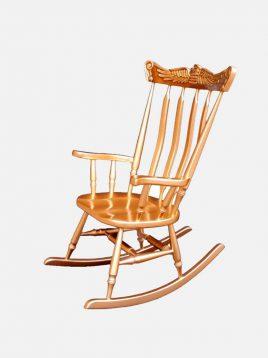 صندلی راک آمازون چوب مدل توسکا تاج عقابی