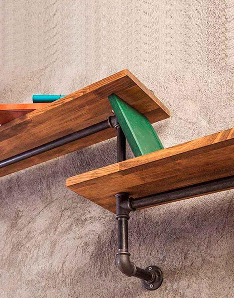 Arta shelf codA119 1 750x957 - طبقه دیوارى مدل A119 آرتا