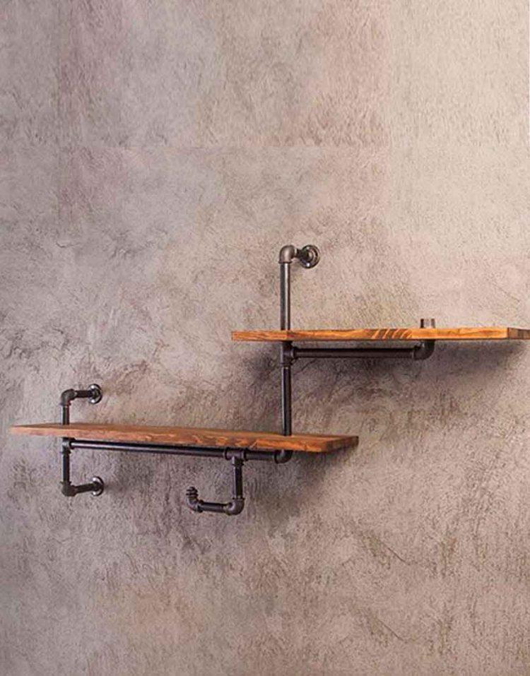 Arta shelf codA119 750x957 - طبقه دیوارى مدل A119 آرتا