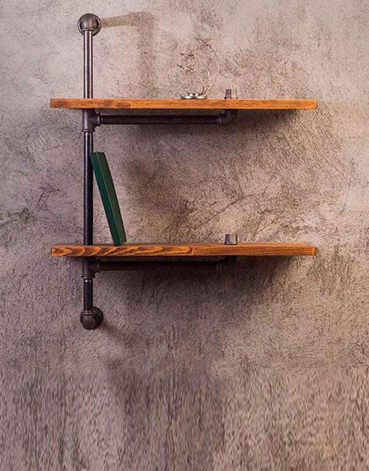 Arta shelf codA120 750x957 - طبقه دیوارى مدل A120 آرتا