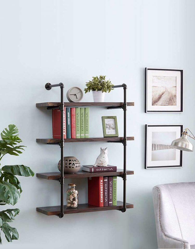 قفسه کتاب دیواری کوچک مدل A220 آرتا
