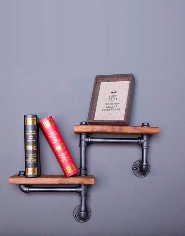 Arta shelf codA222 1 750x957 - طبقه دیواری مدل A222 آرتا