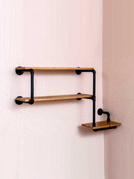 Arta shelf codA228 1 268x358 - قفسه دیواری مدل A228 آرتا