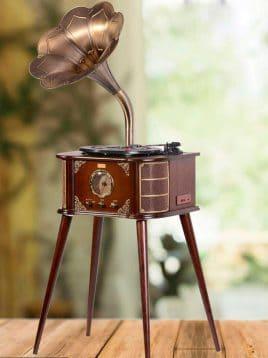 Classicgallery gramophone code1206F 268x358 - گرامافون پایه بلند مدلB گالری کلاسیک