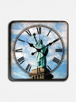 Decorland-marshall-golden-azadi-wall-clock