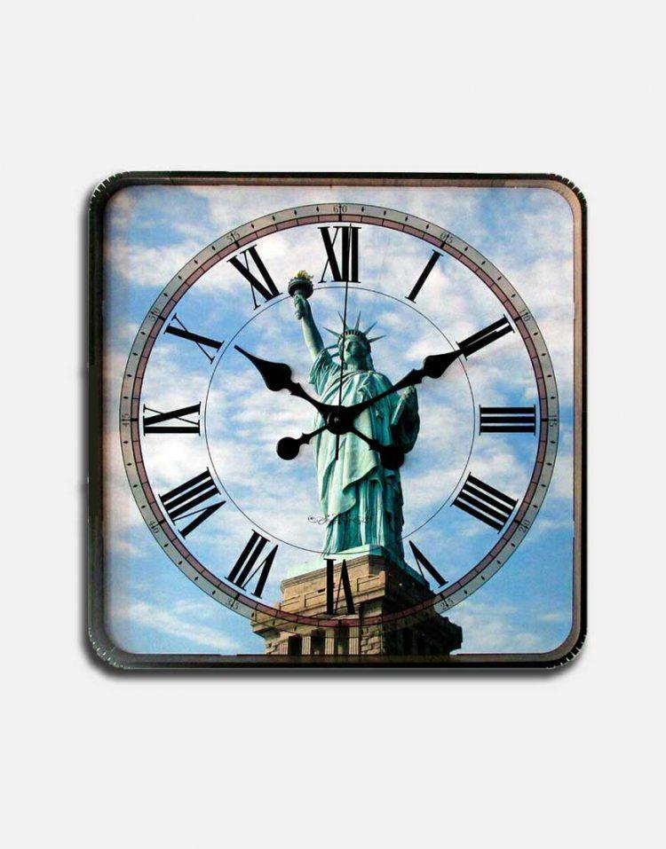 ساعت دیواری طرح ازادی گلدن مارشال