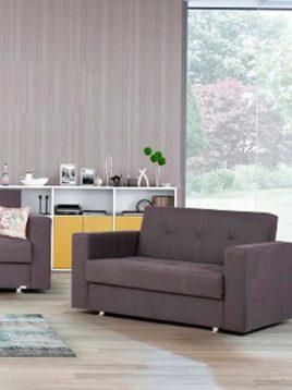 Folding sofa bed Ara 2 268x358 - مبل تختخواب شو آرا
