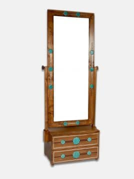 Gallerybalout-shams-mirror-stand-wooden-double-drawer