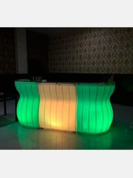Hilda luminous Bar Table cod HK160H 1 268x358 - میز بار نورانی مدلD هیلدا