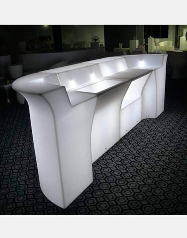 میز بار نورانی مدلD هیلدا