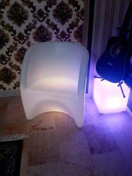 صندلی نورانی مدلD هیلدا