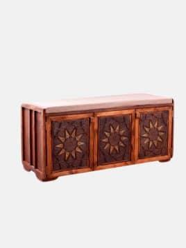 جاکفشی چوبی مدل آرتا