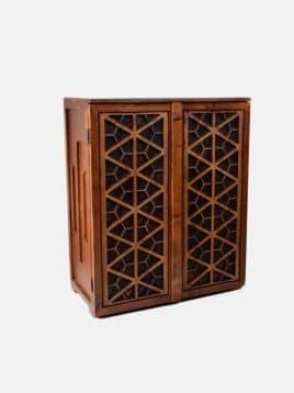 Lustrcenter gerehmodel wooden shoesbox 268x358 - جاکفشی های شیک چوبی مدل گره