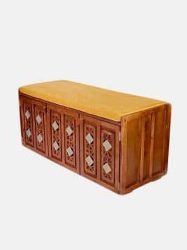 جاکفشی چوبی معرق مدلB