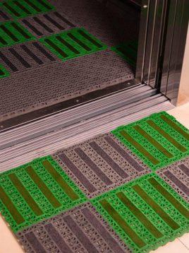babel dustbin classic tile flooring 2 268x358 - کفپوش تایل مشبک خاک گیر