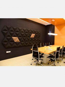 babel pyramid plan design Sound insulation 1 268x358 - عایق صوتی تزتینی طرح هرمی بزرگ