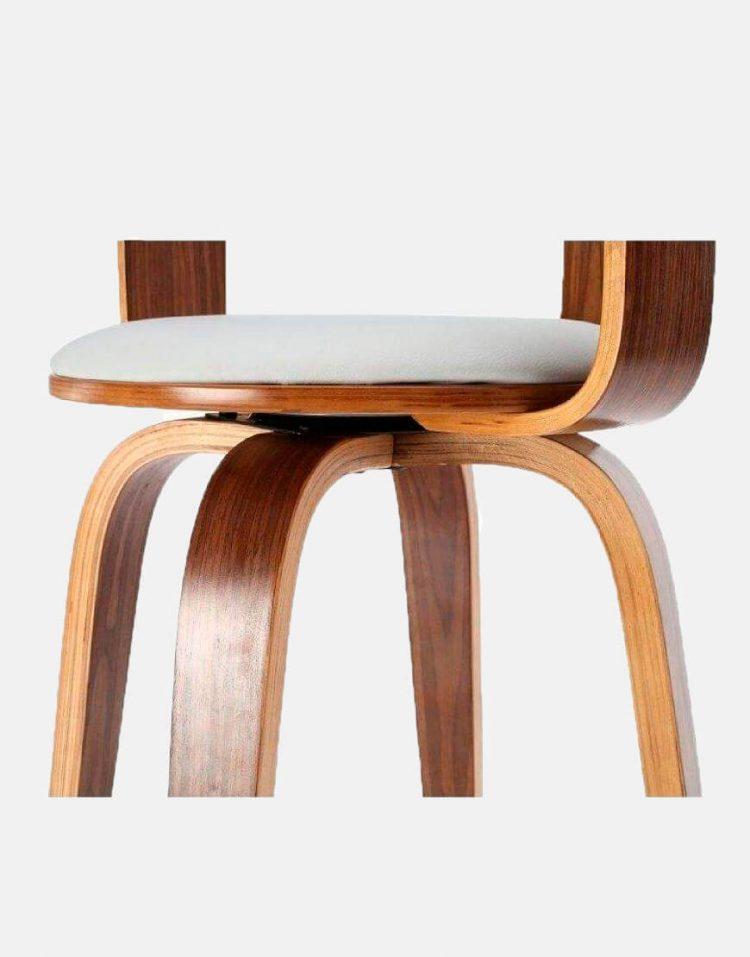 صندلی چوبی اپن آشپزخانه مدل ۷۴۵۵